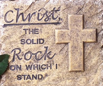 Sermon - Mark 10 - Christ is the Rock on which we stand