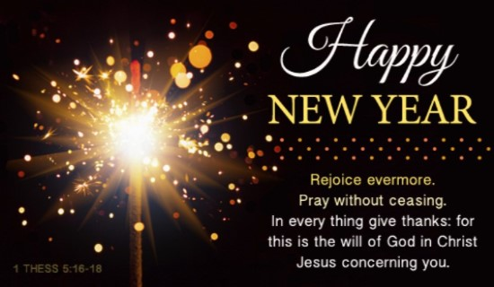 Sermon 01-01-17 Happy New Year